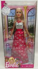 Holiday Barbie 2017 Doll in Snowflake Dress w/ minor package imperfections