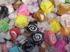 "ASSORTED SALT  WATER  TAFFY  1 Lbs ~Taffy Town ~    ""The World's Best Taffy"""