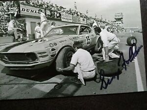 GEORGE FOLLMER Authentic Hand Signed Autograph 4X6 Photo - RACE CAR DRIVER