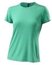 Specialized Women's Utility Crew Cycling Shirt Emerald Green Heather Medium New