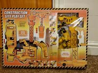 Construction Site Playset Children Kids Toys Playset New Gift *HURRY*