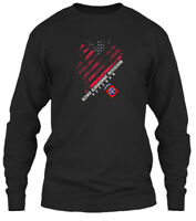 82nd Airborne Division Veteran Vintage - Gildan Long Sleeve Tee T-Shirt