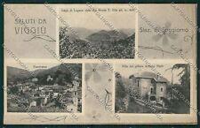 Varese Viggiù Saluti da cartolina QQ6889