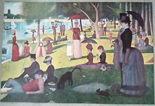 A Sunday on La Grande Jatte - Georges Seurat 36 x 24 Print