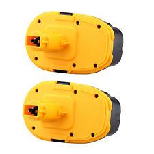 2X 18V Battery for DeWalt DC390KA DC390KB DC410KA DC411B DC411KL DC490B 18 Volt