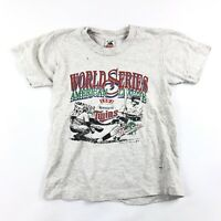 Vintage 90s T Shirt 1991 World Series Minnesota Twins Youth Large 14-16 Baseball