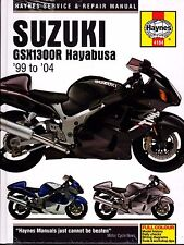 1999-2004 HAYNES SUZUKI GSX1300R HAYABUSA MOTORCYCLE SERVICE MANUAL NEW (4184)
