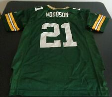 CHARLES WOODSON Green Bay PACKERS Football REEBOK Replica Youth LARGE Jersey NFL