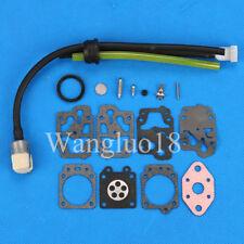 CARBURETOR Fuel Line kit For Honda GX22 GX31 FG100 UMK431 Repair Rebuild Kit
