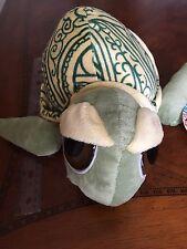 green turtle stuffed animal Hennatude by fiesta