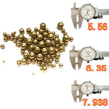 10/100pcs Brass Copper Industry Solid Ball Bearing Business Industrial Fasteners