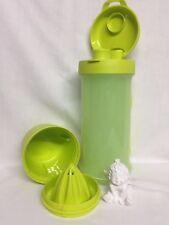 Tupperware ECO Flasche Wasserplus Trinkflasche 700ml Limette Zitronenpresse
