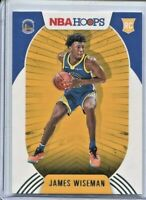 James Wiseman 2020-21 Panini NBA Hoops Warriors Rookie RC #205 ~ A