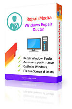 Windows Boot Doctor Data Repair Recovery Restoration DVD Software PC (32bit)