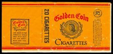 Philippines GOLDEN COIN Cigarette Label