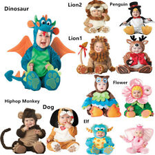 Cosplay Baby Costume Infant Baby Jumpsuit Plush Party Newborn Toddler Suit Gifts
