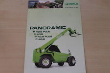158449) Merlo Panoramic P 40.8 40.9 Plus Prospekt 05/2006