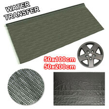 100x50/200x50cm Carbon Fiber Water Transfer Dipping Hydrographics Hydro  UK D2