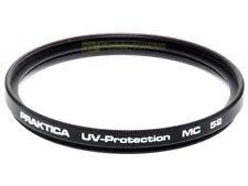 52mm. filtro UV Protection MC Praktica. Ultra Violet Filter.