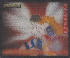 Collector Card; Digimon ...Digi-FX 3D ( Angemon-Power-FX) 2000'