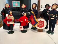 Byers choice carolers 7pcs. Salvation Army