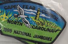 Cape Fear Council 425 Wilmington, NC 1989 National Jamboree, yel SE  [B0660]