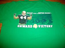 Notre Dame Football 2010 The Shirt Fighting Irish Green Adidas T-Shirt YthLg