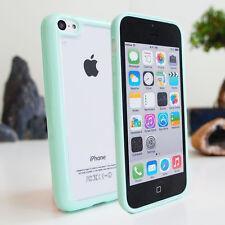 * liquidación * Delgado Gel rígida posterior transparente cubierta de parachoques para iPhone 5c 5s 5 4 4s caso