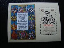 ALLEMAGNE (rda) - timbre yvert et tellier bloc n° 71 n** (Z8) stamp germany
