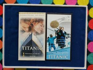 TITANIC Widescreen VHS Collector's Edition