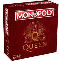 Queen Monopoly Hasbro Board Game (New Sealed)