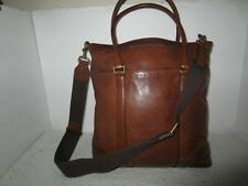 Vintage   Rare  coach  brown leather carry  on tote Travel   bag  Style 10857 la