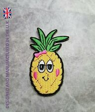 HIGH QUALITY PINEAPPLE PATCH  FEMALE FRUIT DANCE HOLIDAY IRON ON APPLIQUE BADGE