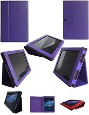 Genuine Leather Stand Case Cover for Asus Eee Pad Transformer Prime TF201
