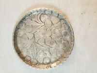 """4 VINTAGE Everlast 3.5"""" Aluminum Coasters MCM Ash Trays Trinket Dishes"""