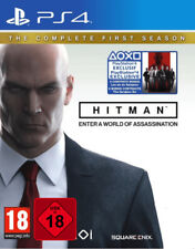 PS4 GAME HITMAN Die Komplette First Season incl. Sarajevo Six DLC NEW