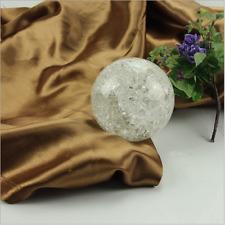 50mm Crystal Ice Crack Ball Quartz Glass Marbles Magic Sphere