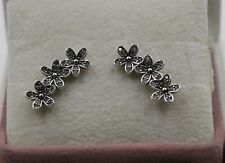 AUTHENTIC PANDORA Dazzling Daisy Clusters Stud Earrings 290744CZ  #1167