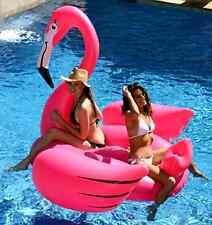 Gigantic Fl 00004000 amingo Pool Float Inflatable Raft Home Garden Pool Fun Water Sport