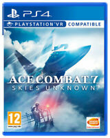 NEW! Ace Combat 7: Skies Unknown - VR Compatible PS4 (PlayStation 4) (PSVR)