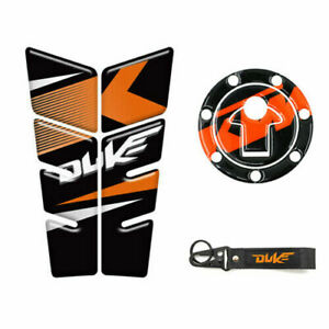 For KTM DUKE 1190 990 1290 790 200 250 Tank Pads Tank Protector Sticker keychain