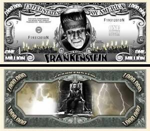 FRANKENSTEIN - MILLION DOLLAR US ! BORIS KARLOFF Universal Monsters horreur 1931