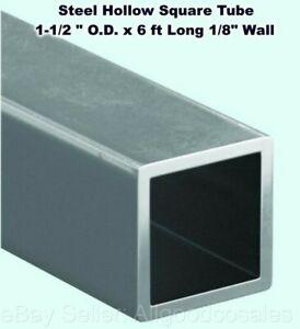 1-1//2in x 2-1//2in x 14 Gauge Wall Steel Rectangle Tube 36in Piece