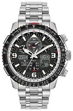 New Citizen Eco-Drive Promaster SkyHawk A-T Mens Steel Watch JY8070-54E