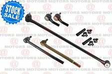 For Dodge Ram B3500 95-98 Front Drag Link Tie Rods Adjusting Sleeve 7 Pieces New