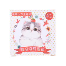 40pcs Small square box roundabout cat decor sticker book album DIY sticker LC
