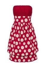 Mini Regular Size Sleeveless Polycotton Dresses for Women