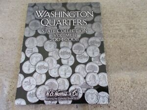 Washington Quarters State Collection Book