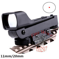 Reflex sight Red Dot Sight Wide View Airgun 10mm and 20mm Weaver Rail Mounts
