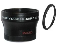 Bower 37mm Digital Wide Angle Lens for Sony Handycam camcorders 30/37mm